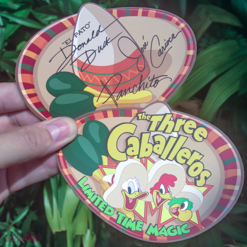 The Three Caballeros Limited Time Magic Autograph Card