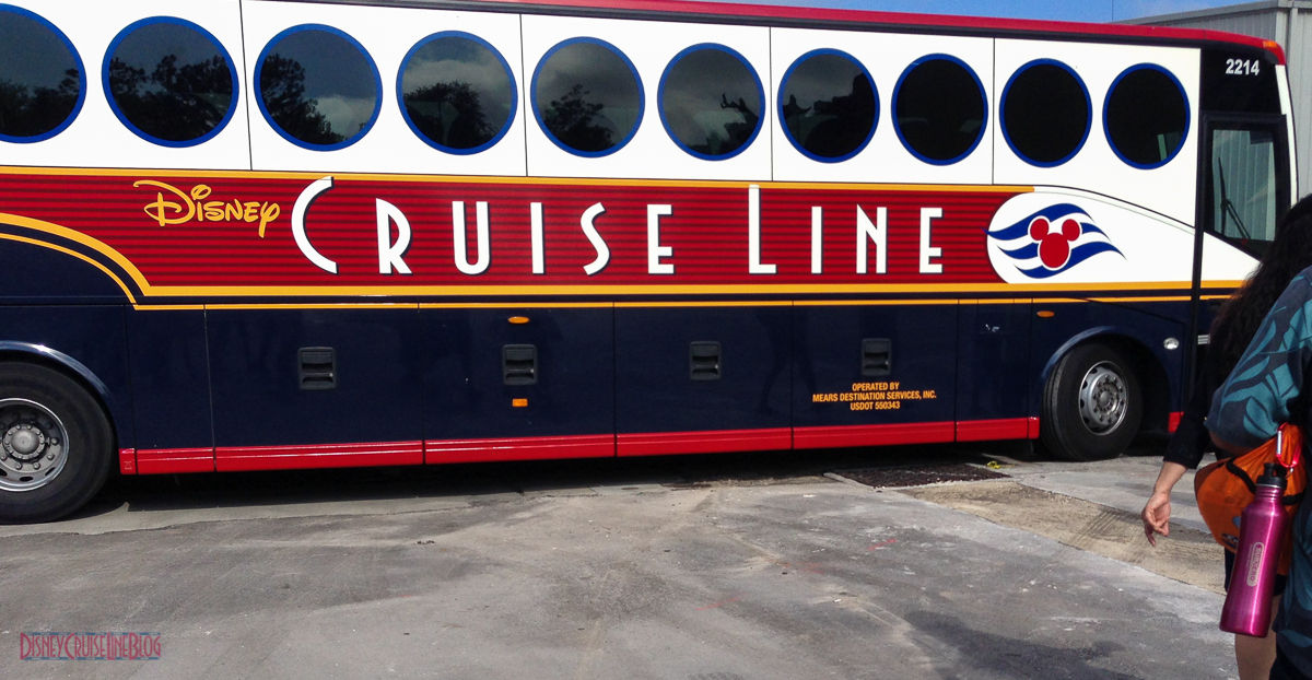 Disney Cruise Line Bus