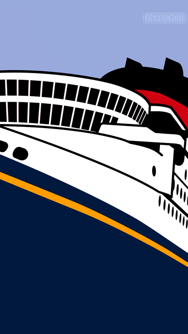 Disney Cruise Line Ship iPhone 5 Wallpaper