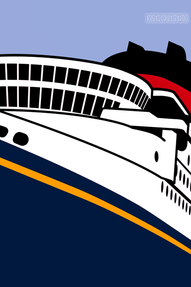 Disney Cruise Line Ship iPhone Wallpaper