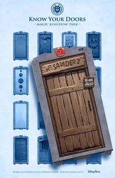 Know Your Doors Magic Kingdom Mr Sanderz