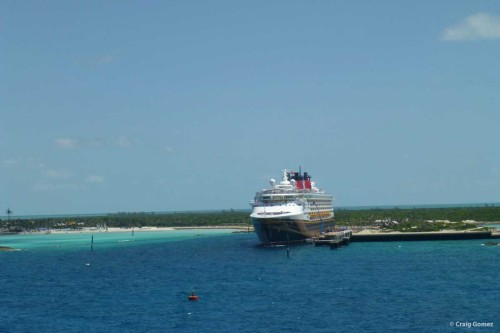 Disney Dream & Disney Wonder at Castaway Cay May 7, 2013