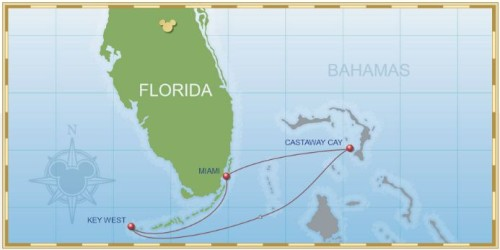 4-Night Bahamian Cruise on Disney Wonder – Itinerary D