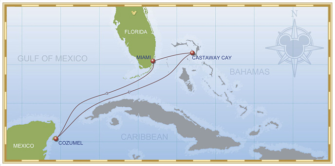5-Night Western Caribbean Cruise on Disney Wonder - Itinerary A
