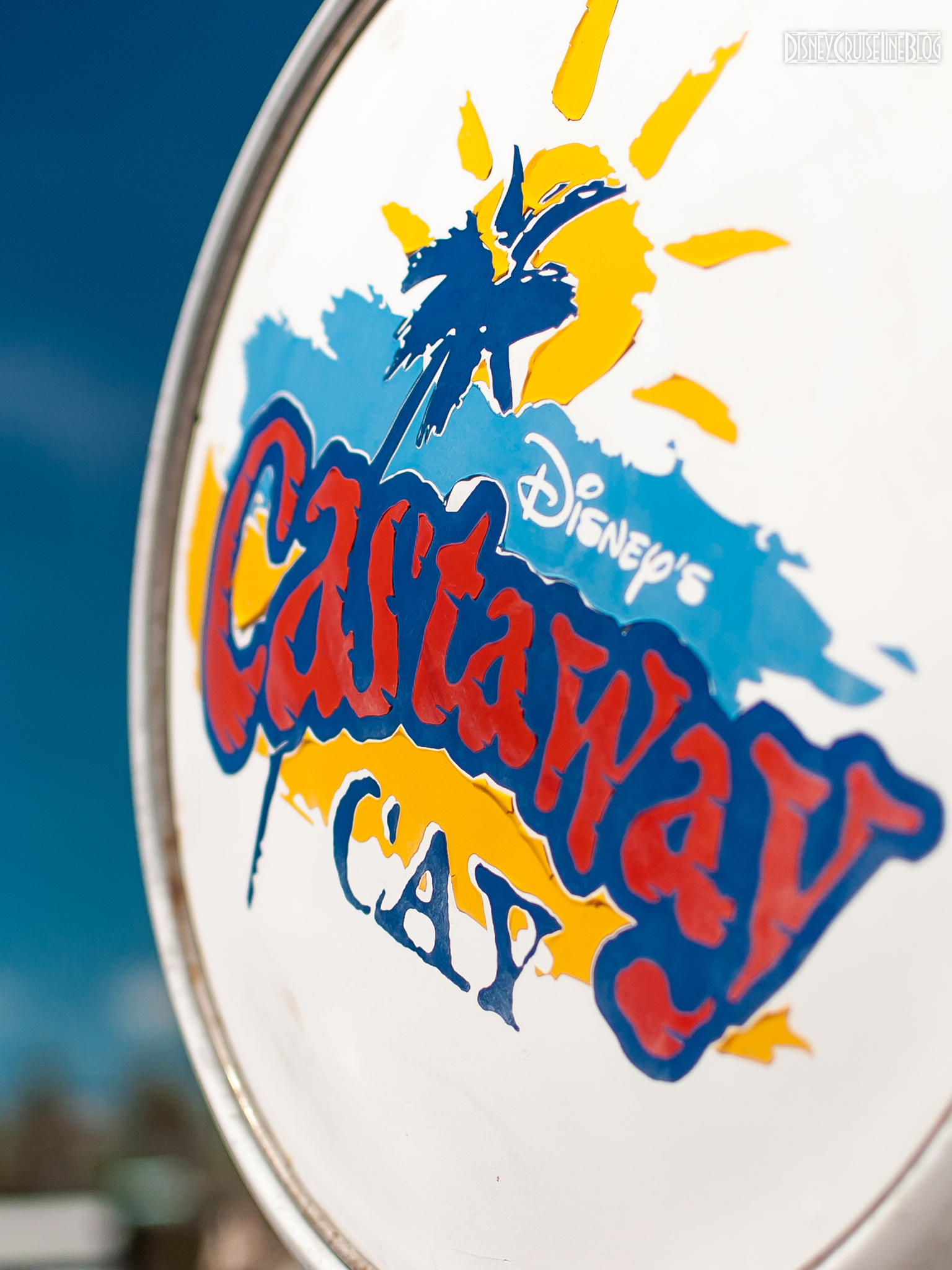 Castaway Cay Gas Pump iPad Wallpaper