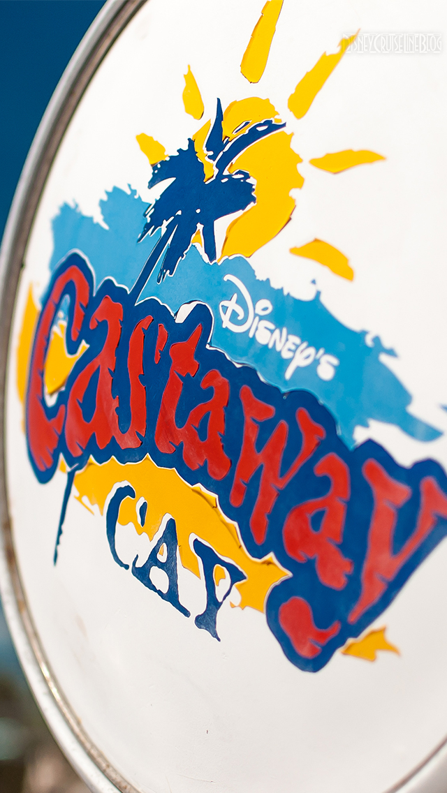 Castaway Cay Gas Pump iPhone 5 Wallpaper