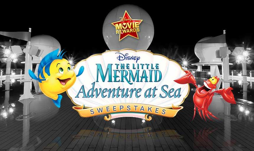 Disney Movie Rewards Little Mermaid Adventure at Sea Sweepstakes Disney Dream