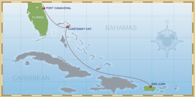 3-Night San Juan to Port Canaveral Cruise on Disney Magic