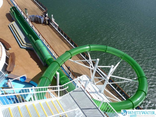 AquaDrop - Green Thunder Carnival Spirit Birds Eye View