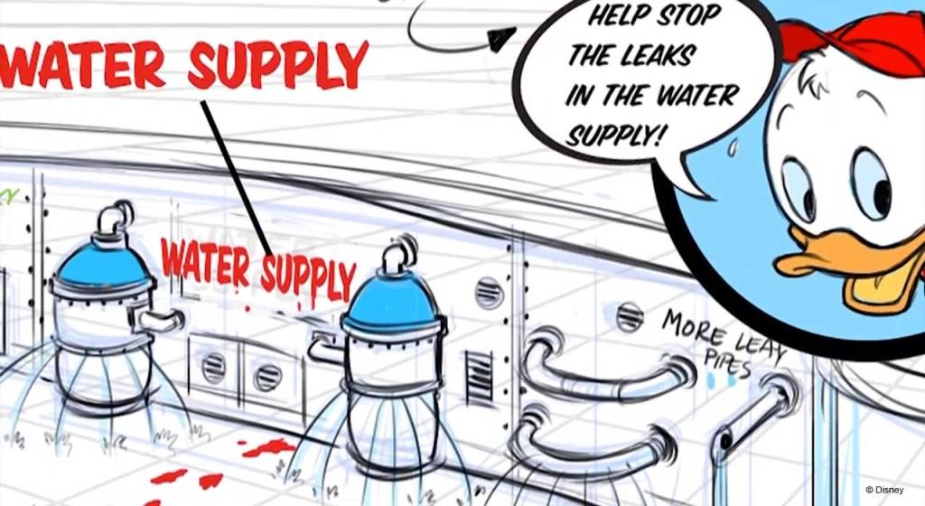 Disney Magic Refurb AquaLab Blueprints
