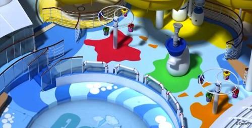Disney Magic Refurb AquaLab Water Jets