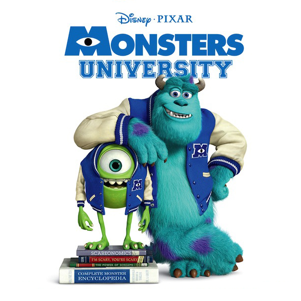 Monsters University Poster Randy Newman Score Cover