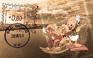Disney Magic Carioca's Entry Mural Right