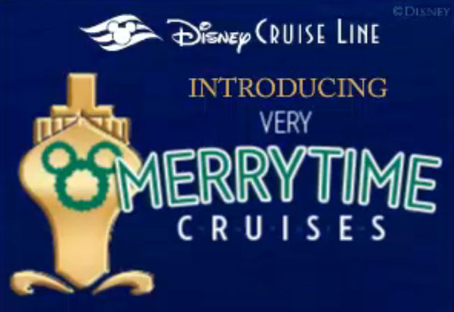 DCL Very Merrrytime Cruises Logo 2013