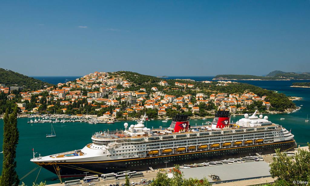 Disney Magic Dubrovnik Port Croatia
