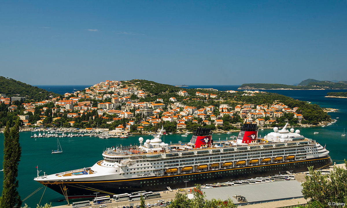 Disney Magic Dubrovnik Port Croatia