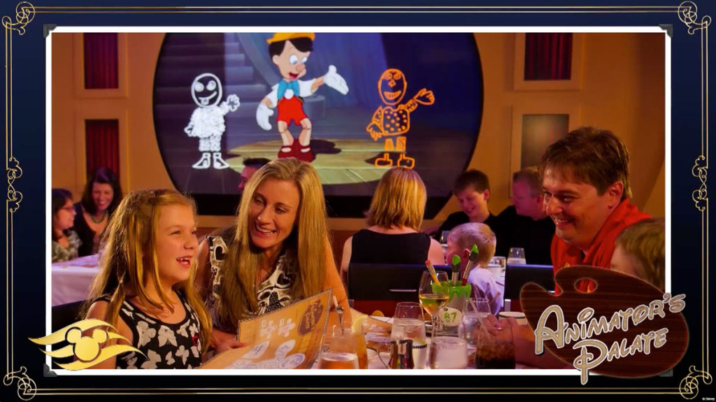 Disney Magic Refurb Animator's Palate Show