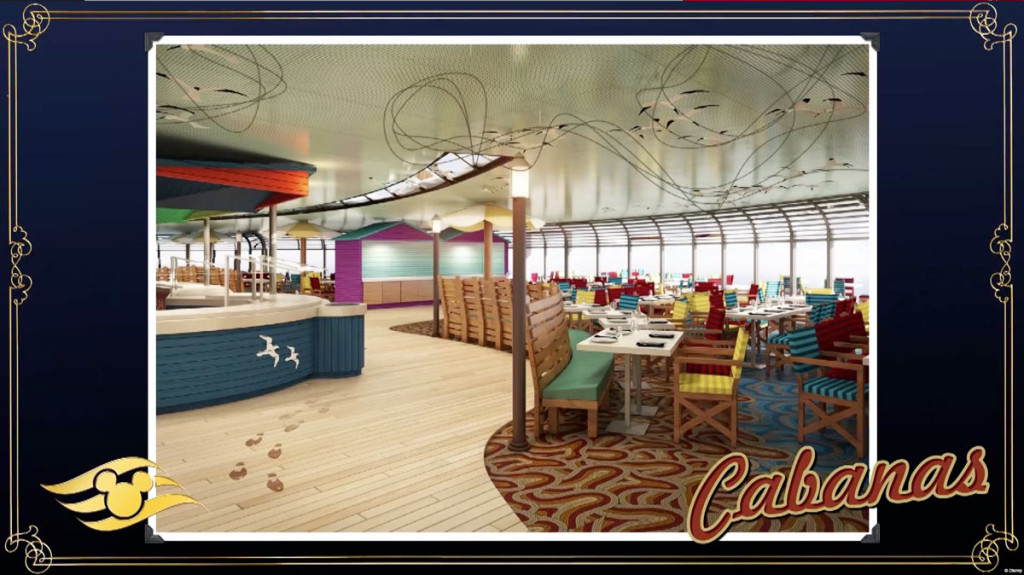 Disney Magic Refurb Cabanas