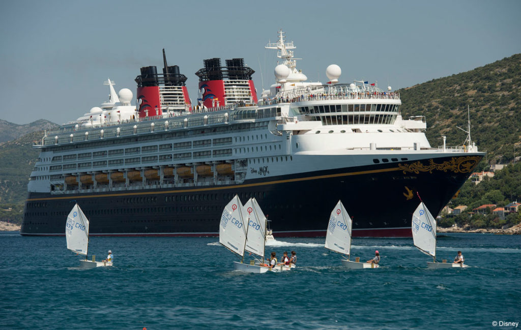 Disney Magic with Sailboats Dubrovnik