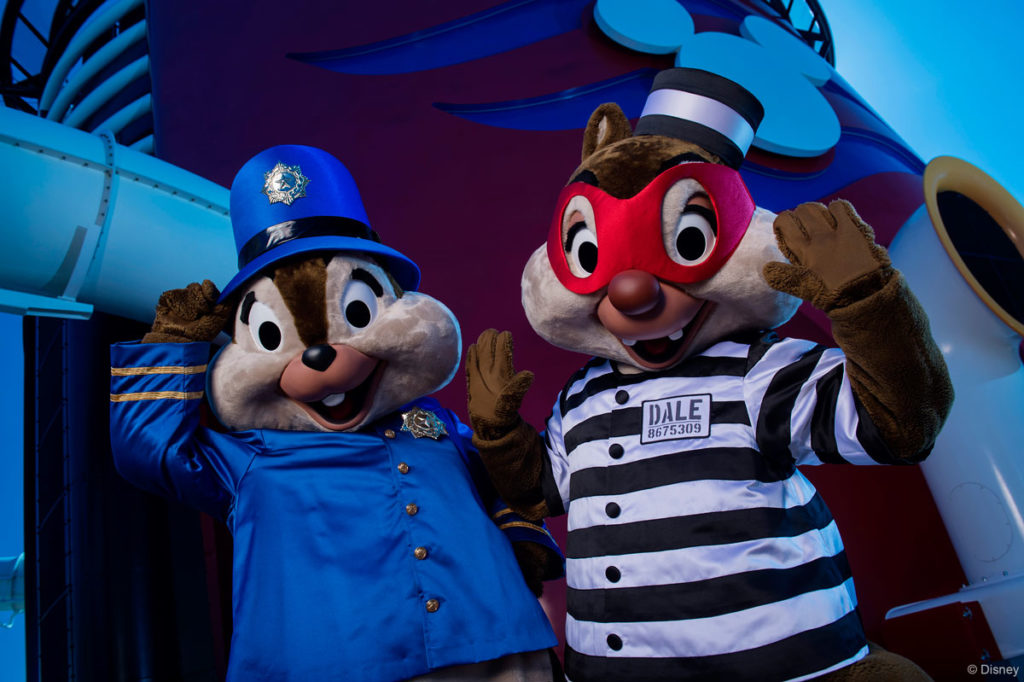 Halloween On The High Seas Chip Dale 2013