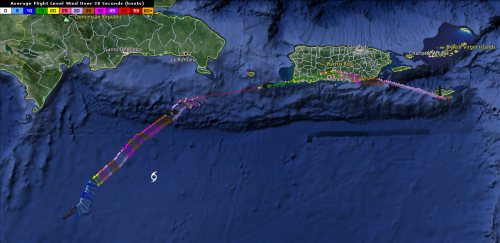 Hurricane Hunter Recon Chantal 8AM 2013 Jul 10