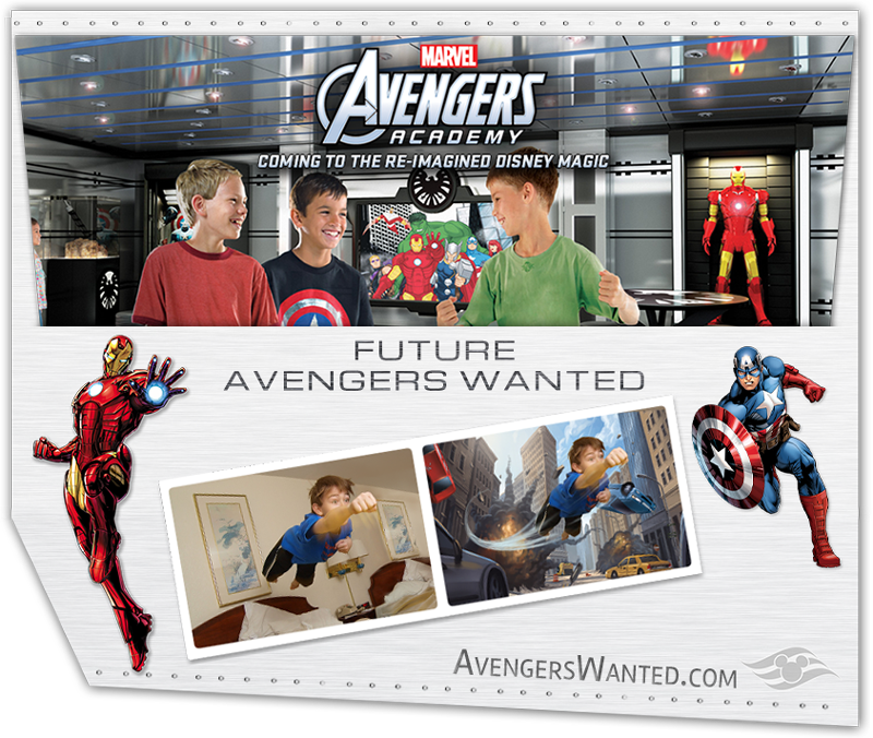 Disney Magic Avengers Wanted Poster