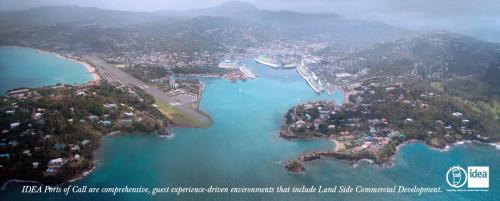 IDEA Castries Harbor - St Lucia