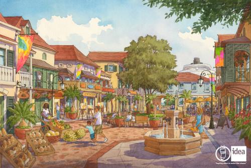 DCL Idea Tortola Pier Park Village View 2