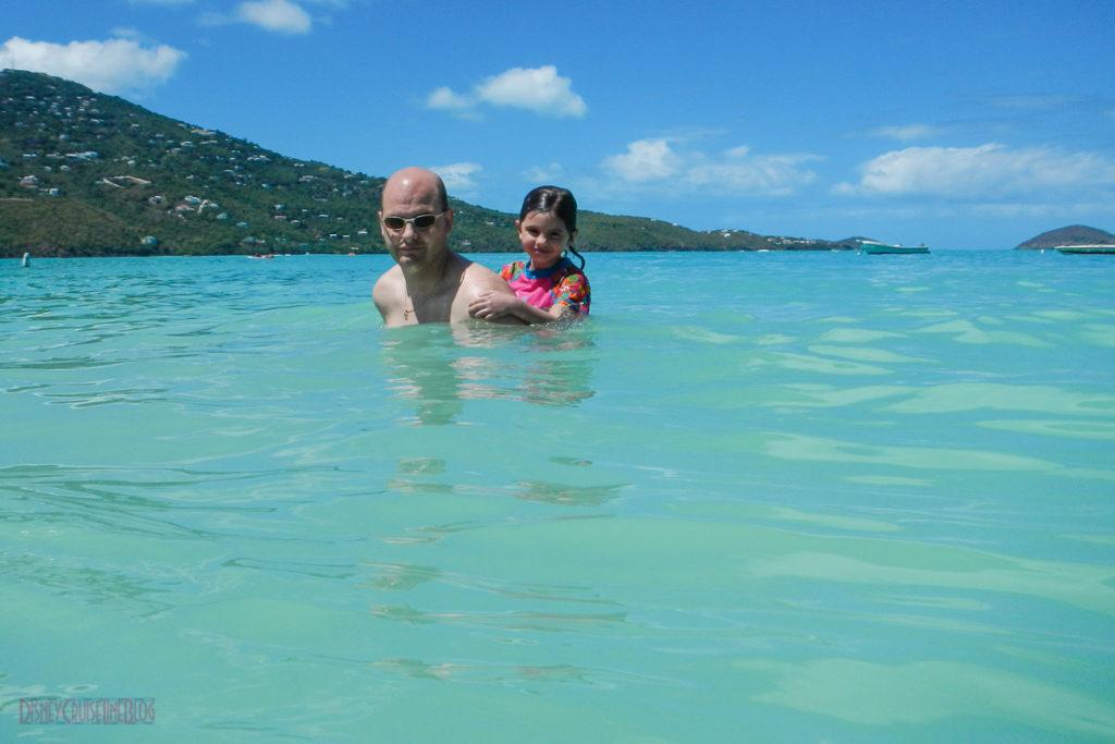 Swimming at Magens Bay