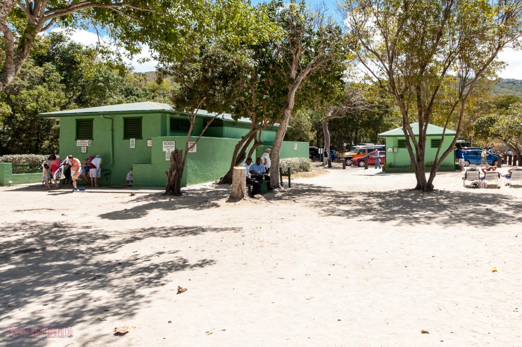 Magens Bay Restrooms and Shower Facilities