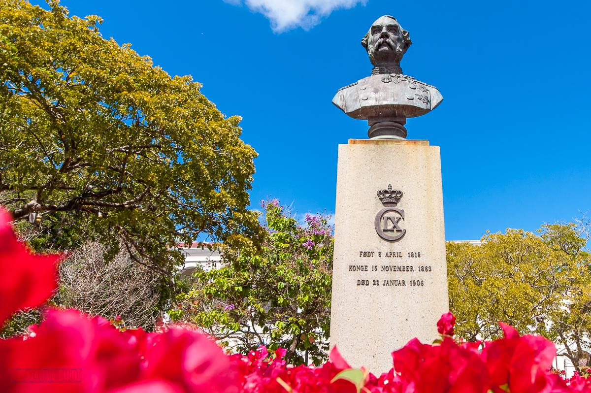 King Christian IX - Charlotte Amalie - Emancipation Square