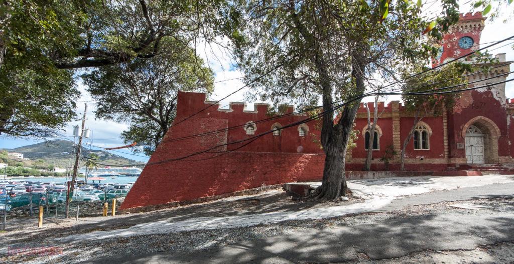 Fort Christian with the Disney Fantasy - Charlotte Amalie St Thomas