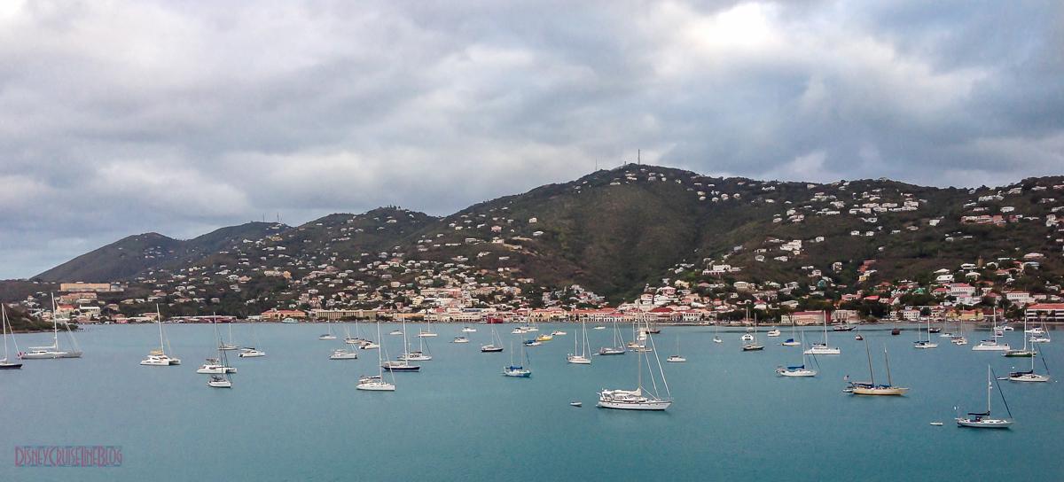Charlotte Amalie from St Thomas Harbor