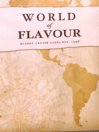 World Of Flavour Dessert Menu Cover Magic July 2015