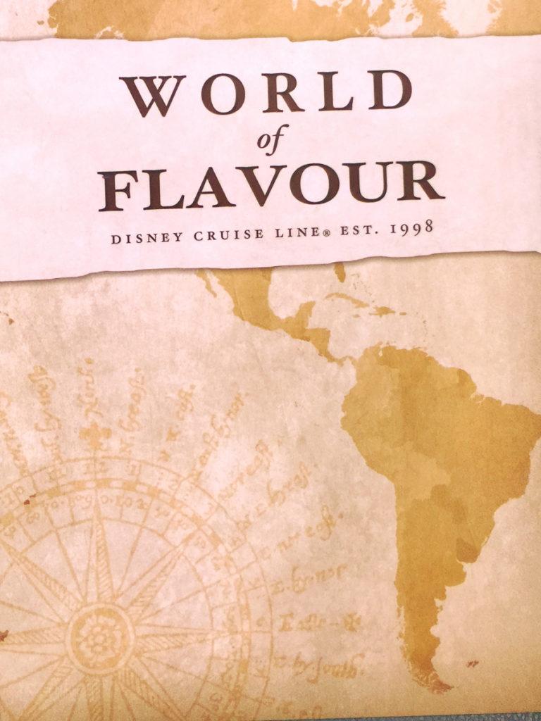 World Of Flavour Dessert Menu Cover Magic July 2015