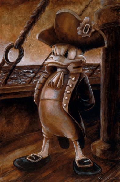 Darren Wilson - DCL 2013 - Admiral Donald Duck