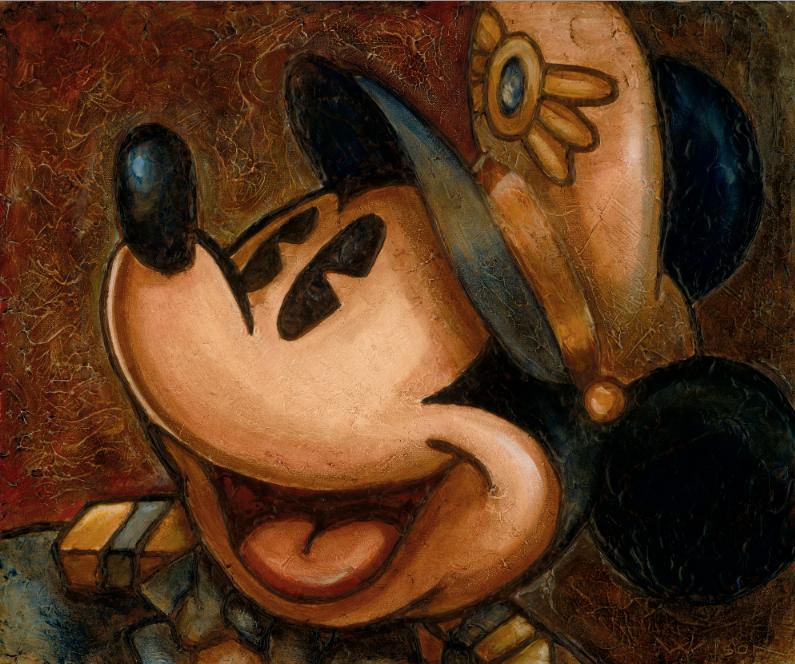 Darren Wilson - DCL 2013 - Textured Captain Mickey