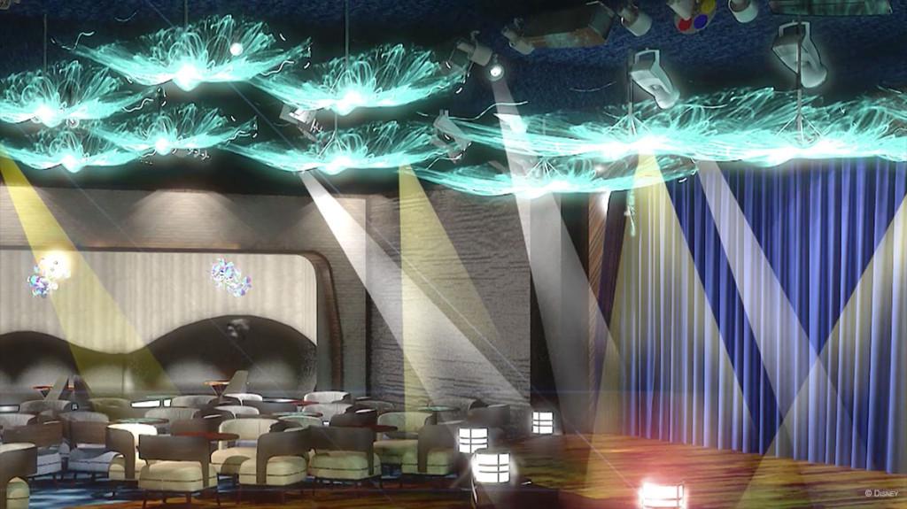 Disney Magic Refurb After Hours Fathoms Jellyfish Lights