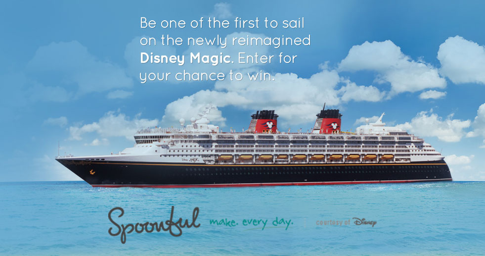 Disney Magic Spoonful.com Sweepstakes Aug 2013