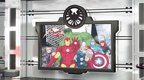 Magic Refurb Avengers Academy Disney XD Assemble TV
