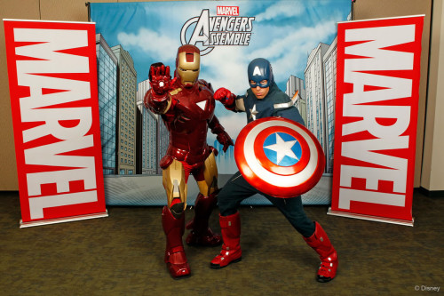 Marvel D23 Captain America Iron Man Meet and Greet