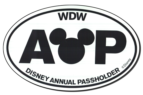 WDW Mickey Monitor 2013 Fall AP Magnet