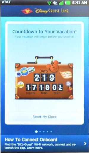 DCL App Screen Screen Countdown Update