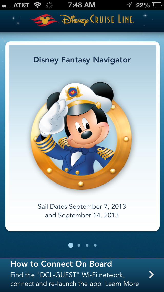 Disney Cruise Line Releases A Personal Navigator Iphone