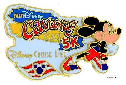 DCL runDisney Castaway Cay 5K Pin