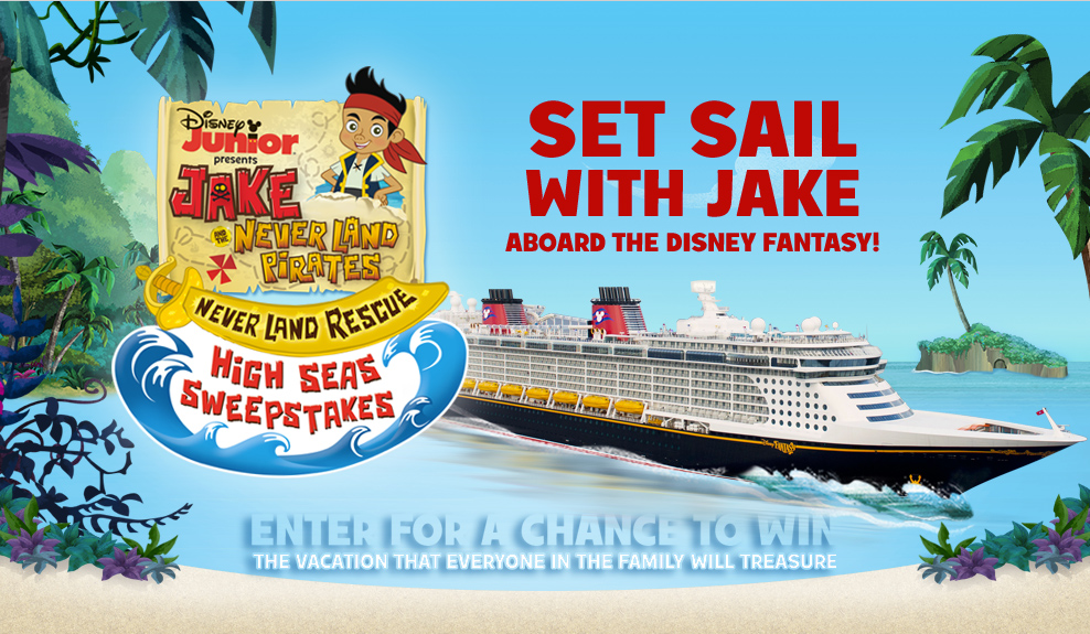 Disney Junior Launches A Jake And The Never Land Pirates