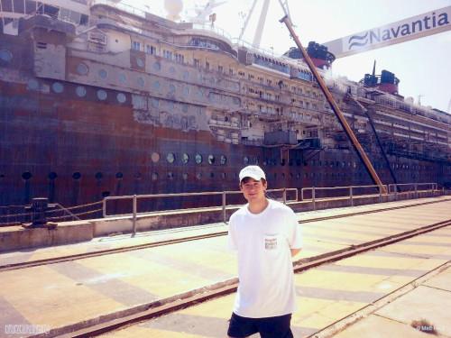 Disney Magic Dry Dock Cadiz Sep 22 Stripped Port