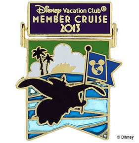 Disney Vacation Club Member Cruise 2013 Pin