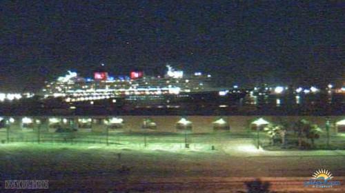 Disney Wonder Galveston Arrival Webcam Pier 23