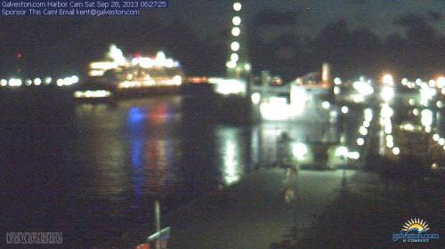 Disney Wonder Galveston Arrival Webcam